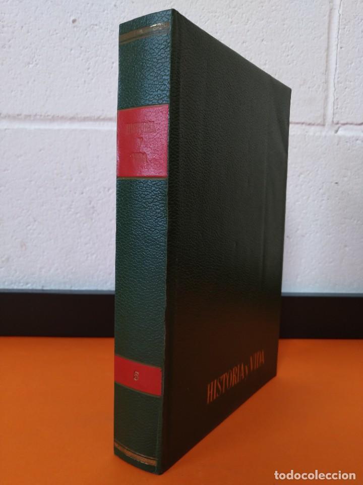 """REVISTA - """"HISTORIA Y VIDA"""" ENCUADERNADA - 5 - AÑO III - Nº ( 25 AL 30 ) - AÑO 1970...L2515 (Coleccionismo - Revistas y Periódicos Modernos (a partir de 1.940) - Revista Historia y Vida)"""