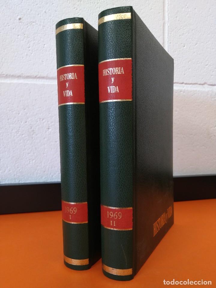 """REVISTA - """"HISTORIA Y VIDA"""" AÑO 1969 - DOS TOMOS ENCUADERNADOS - Nº (10 AL 21) ...L2516 (Coleccionismo - Revistas y Periódicos Modernos (a partir de 1.940) - Revista Historia y Vida)"""