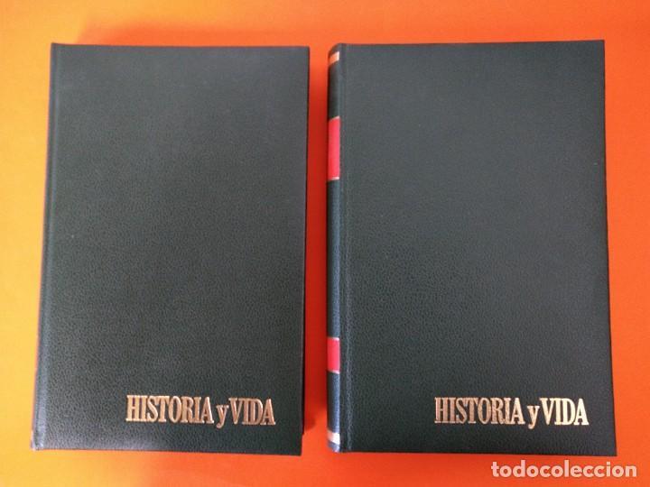 """Coleccionismo de Revista Historia y Vida: REVISTA - """"HISTORIA Y VIDA"""" AÑO 1969 - DOS TOMOS ENCUADERNADOS - Nº (10 AL 21) ...L2516 - Foto 2 - 223904330"""