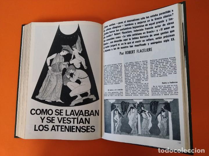 """Coleccionismo de Revista Historia y Vida: REVISTA - """"HISTORIA Y VIDA"""" AÑO 1969 - DOS TOMOS ENCUADERNADOS - Nº (10 AL 21) ...L2516 - Foto 10 - 223904330"""