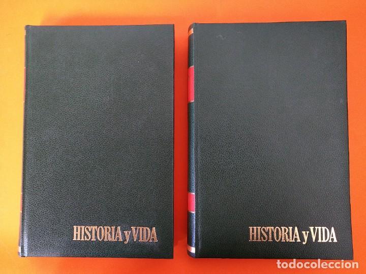 """Coleccionismo de Revista Historia y Vida: REVISTA - """"HISTORIA Y VIDA"""" AÑO 1970 - DOS TOMOS ENCUADERNADOS - Nº (22 AL 33) ...L2517 - Foto 2 - 223904903"""
