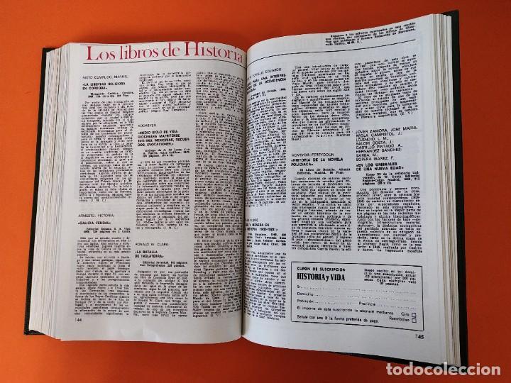 """Coleccionismo de Revista Historia y Vida: REVISTA - """"HISTORIA Y VIDA"""" AÑO 1970 - DOS TOMOS ENCUADERNADOS - Nº (22 AL 33) ...L2517 - Foto 6 - 223904903"""
