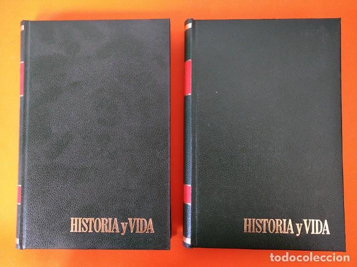 """Coleccionismo de Revista Historia y Vida: REVISTA - """"HISTORIA Y VIDA"""" AÑO 1971 - DOS TOMOS ENCUADERNADOS - Nº (34 AL 45) ...L2518 - Foto 2 - 223905172"""