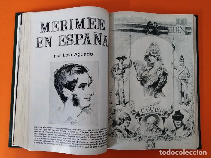 """Coleccionismo de Revista Historia y Vida: REVISTA - """"HISTORIA Y VIDA"""" AÑO 1971 - DOS TOMOS ENCUADERNADOS - Nº (34 AL 45) ...L2518 - Foto 6 - 223905172"""