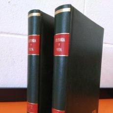 """Coleccionismo de Revista Historia y Vida: REVISTA - """"HISTORIA Y VIDA"""" AÑO 1972 - DOS TOMOS ENCUADERNADOS - Nº (46 AL 57) ...L2519. Lote 223905653"""