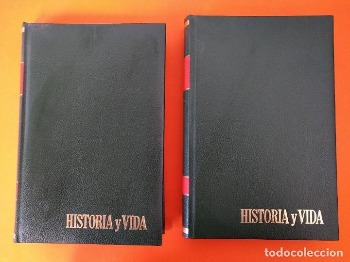 """Coleccionismo de Revista Historia y Vida: REVISTA - """"HISTORIA Y VIDA"""" AÑO 1972 - DOS TOMOS ENCUADERNADOS - Nº (46 AL 57) ...L2519 - Foto 2 - 223905653"""