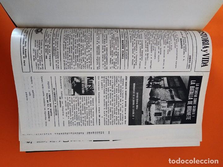 """Coleccionismo de Revista Historia y Vida: REVISTA - """"HISTORIA Y VIDA"""" AÑO 1972 - DOS TOMOS ENCUADERNADOS - Nº (46 AL 57) ...L2519 - Foto 3 - 223905653"""