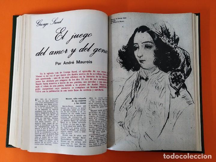"""Coleccionismo de Revista Historia y Vida: REVISTA - """"HISTORIA Y VIDA"""" AÑO 1972 - DOS TOMOS ENCUADERNADOS - Nº (46 AL 57) ...L2519 - Foto 5 - 223905653"""