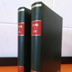 """Coleccionismo de Revista Historia y Vida: REVISTA - """"HISTORIA Y VIDA"""" AÑO 1973 - DOS TOMOS ENCUADERNADOS - Nº (58 AL 69) ...L2520. Lote 223905906"""