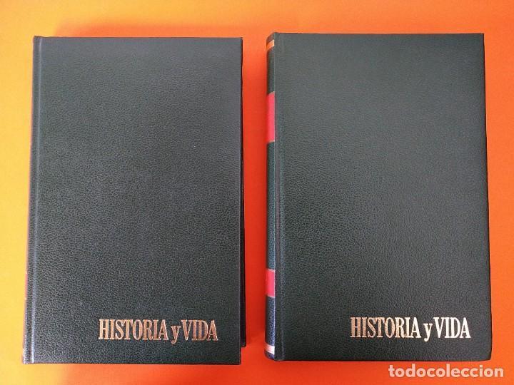 """Coleccionismo de Revista Historia y Vida: REVISTA - """"HISTORIA Y VIDA"""" AÑO 1973 - DOS TOMOS ENCUADERNADOS - Nº (58 AL 69) ...L2520 - Foto 2 - 223905906"""