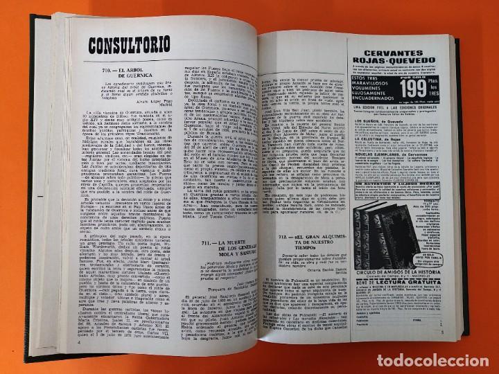 """Coleccionismo de Revista Historia y Vida: REVISTA - """"HISTORIA Y VIDA"""" AÑO 1973 - DOS TOMOS ENCUADERNADOS - Nº (58 AL 69) ...L2520 - Foto 4 - 223905906"""