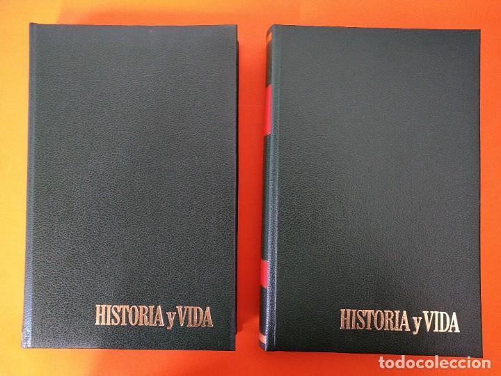 """Coleccionismo de Revista Historia y Vida: REVISTA - """"HISTORIA Y VIDA"""" AÑO 1974 - DOS TOMOS ENCUADERNADOS - Nº (70 AL 81) ...L2521 - Foto 2 - 223906217"""