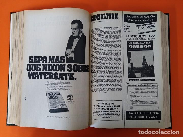 """Coleccionismo de Revista Historia y Vida: REVISTA - """"HISTORIA Y VIDA"""" AÑO 1974 - DOS TOMOS ENCUADERNADOS - Nº (70 AL 81) ...L2521 - Foto 8 - 223906217"""