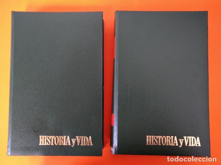 """Coleccionismo de Revista Historia y Vida: REVISTA - """"HISTORIA Y VIDA"""" AÑO 1975 - DOS TOMOS ENCUADERNADOS - Nº (82 AL 93) ...L2522 - Foto 2 - 223907125"""