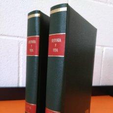 """Coleccionismo de Revista Historia y Vida: REVISTA - """"HISTORIA Y VIDA"""" AÑO 1976 - DOS TOMOS ENCUADERNADOS - Nº (94 AL 105) ...L2523. Lote 223907393"""
