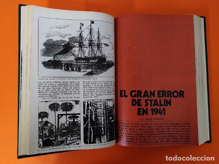 """Coleccionismo de Revista Historia y Vida: REVISTA - """"HISTORIA Y VIDA"""" AÑO 1976 - DOS TOMOS ENCUADERNADOS - Nº (94 AL 105) ...L2523 - Foto 6 - 223907393"""