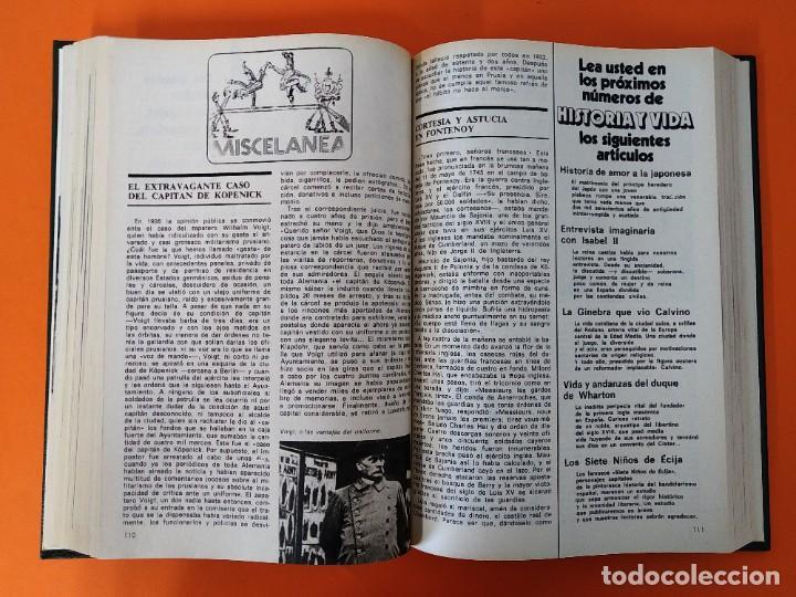 """Coleccionismo de Revista Historia y Vida: REVISTA - """"HISTORIA Y VIDA"""" AÑO 1976 - DOS TOMOS ENCUADERNADOS - Nº (94 AL 105) ...L2523 - Foto 9 - 223907393"""