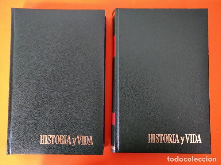 """REVISTA - """"HISTORIA Y VIDA"""" AÑO 1978 - DOS TOMOS ENCUADERNADOS - Nº (118 AL 129) ...L2524 (Coleccionismo - Revistas y Periódicos Modernos (a partir de 1.940) - Revista Historia y Vida)"""