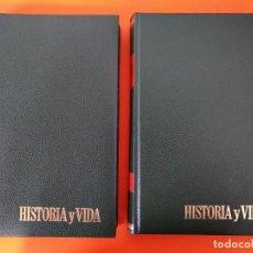 """Coleccionismo de Revista Historia y Vida: REVISTA - """"HISTORIA Y VIDA"""" AÑO 1978 - DOS TOMOS ENCUADERNADOS - Nº (118 AL 129) ...L2524. Lote 223907723"""