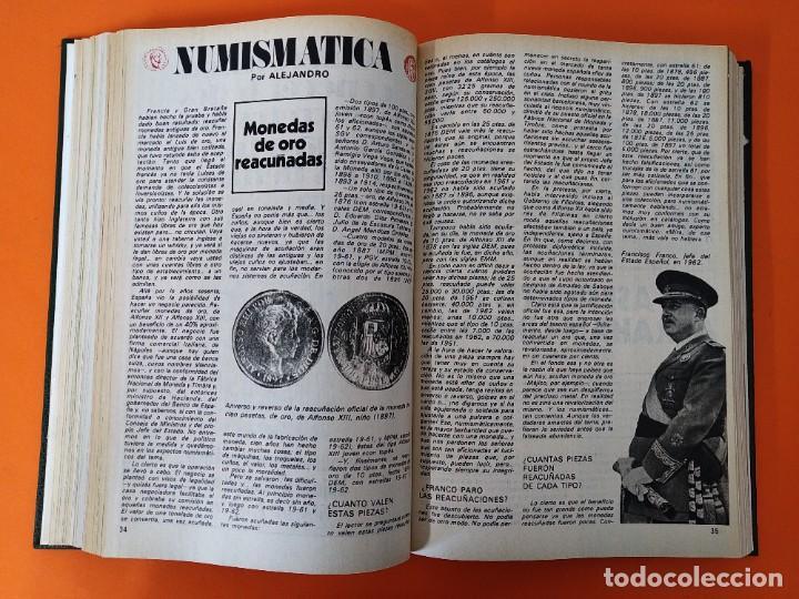 """Coleccionismo de Revista Historia y Vida: REVISTA - """"HISTORIA Y VIDA"""" AÑO 1978 - DOS TOMOS ENCUADERNADOS - Nº (118 AL 129) ...L2524 - Foto 4 - 223907723"""