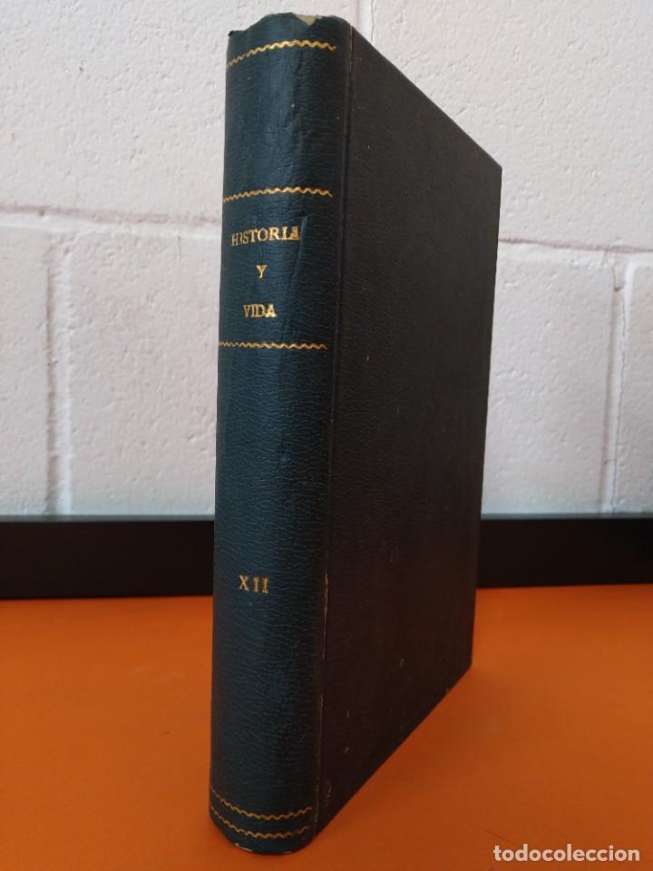 """REVISTA - """"HISTORIA Y VIDA"""" 6 NUMEROS ENCUADERNADOS - Nº (89 AL 94) - AÑO 1975/76 ...L2526 (Coleccionismo - Revistas y Periódicos Modernos (a partir de 1.940) - Revista Historia y Vida)"""