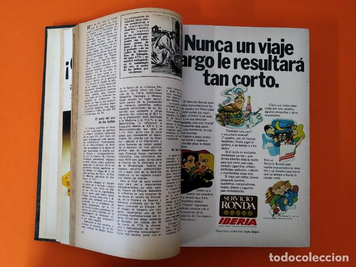 """Coleccionismo de Revista Historia y Vida: REVISTA - """"HISTORIA Y VIDA"""" 6 NUMEROS ENCUADERNADOS - Nº (89 AL 94) - AÑO 1975/76 ...L2526 - Foto 4 - 223909557"""