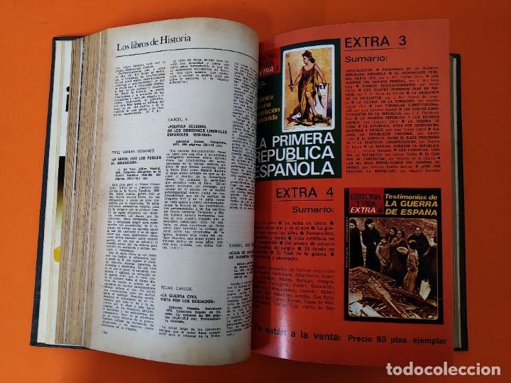 """Coleccionismo de Revista Historia y Vida: REVISTA - """"HISTORIA Y VIDA"""" 6 NUMEROS ENCUADERNADOS - Nº (89 AL 94) - AÑO 1975/76 ...L2526 - Foto 6 - 223909557"""