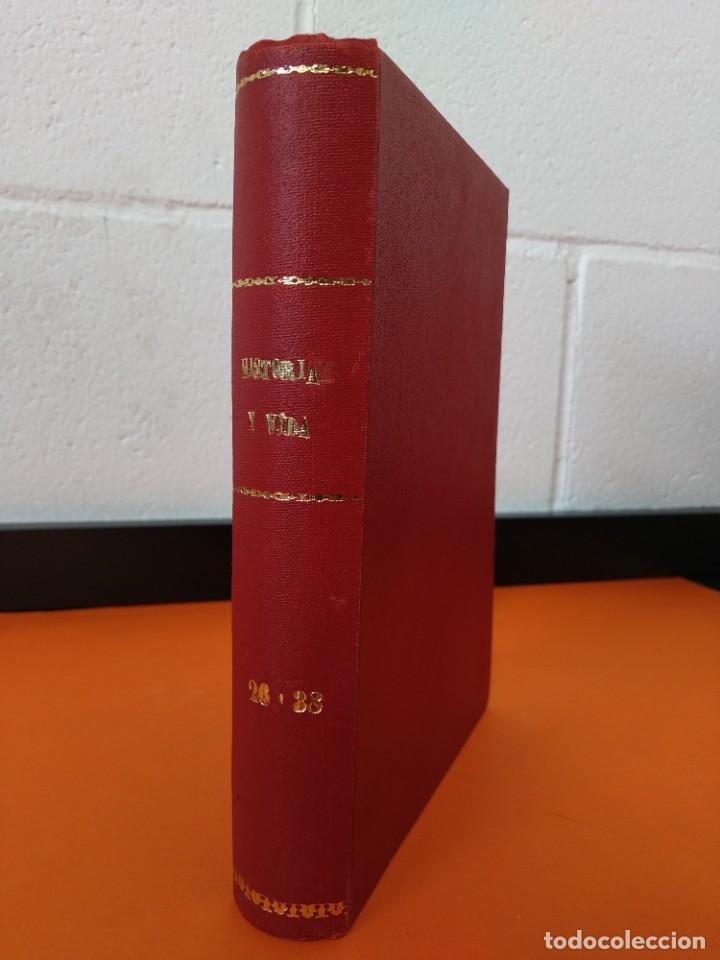 """REVISTA - """"HISTORIA Y VIDA"""" EXTRA - ENCUADERNADOS - Nº (26 AL 38) - AÑO (1982 AL 1985) ...L2527 (Coleccionismo - Revistas y Periódicos Modernos (a partir de 1.940) - Revista Historia y Vida)"""