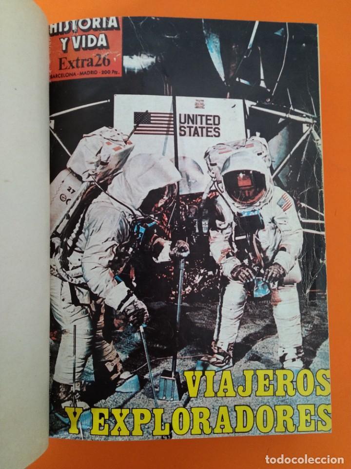 """Coleccionismo de Revista Historia y Vida: REVISTA - """"HISTORIA Y VIDA"""" EXTRA - ENCUADERNADOS - Nº (26 AL 38) - AÑO (1982 AL 1985) ...L2527 - Foto 3 - 223910226"""