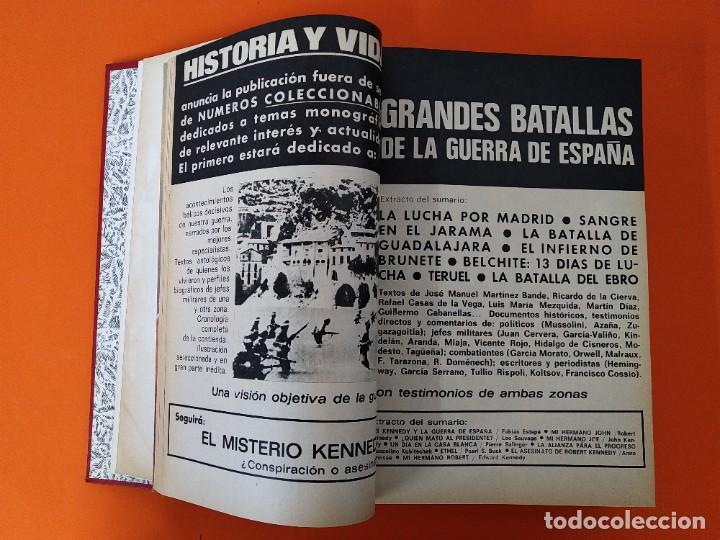 """Coleccionismo de Revista Historia y Vida: REVISTA - """"HISTORIA Y VIDA"""" - ENCUADERNADOS - Nº (73 AL 80) - AÑO 1974 ...L2528 - Foto 4 - 223910925"""