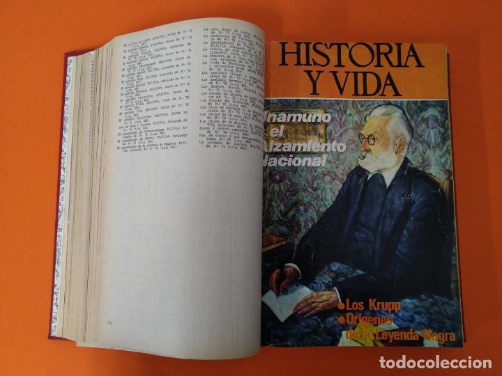"""Coleccionismo de Revista Historia y Vida: REVISTA - """"HISTORIA Y VIDA"""" - ENCUADERNADOS - Nº (73 AL 80) - AÑO 1974 ...L2528 - Foto 6 - 223910925"""