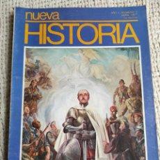 Coleccionismo de Revista Historia y Vida: NUEVA HISTORIA Nº 3 AÑO 1977 ¿FRANCO, REY DE ESPAÑA? -MIGUEL HERNANDEZ CORRESPONSAL GUERRA. Lote 227244132
