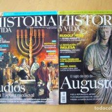 Coleccionismo de Revista Historia y Vida: LOTE DOS REVISTAS HISTORIA Y VIDA NOS. 429,433. Lote 227692250