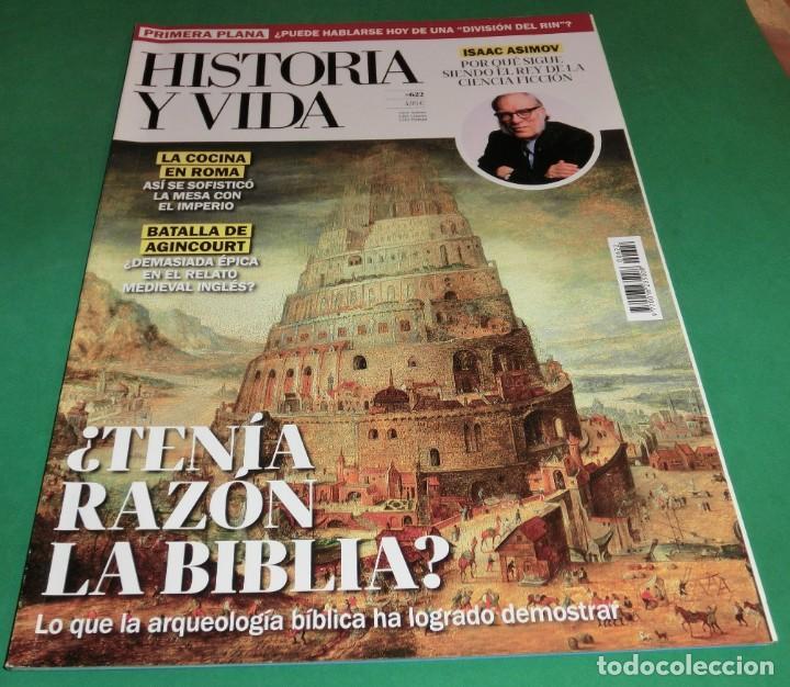 HISTORIA Y VIDA Nº 622- ¿TENÍA RAZÓN LA BIBLIA? (COMO NUEVA) (Coleccionismo - Revistas y Periódicos Modernos (a partir de 1.940) - Revista Historia y Vida)