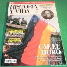 Coleccionismo de Revista Historia y Vida: HISTORIA Y VIDA Nº 620- CAE EL MURO (COMO NUEVA). Lote 230798385