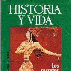 Collectionnisme de Magazine Historia y Vida: LOTE 40 REVISTAS HISTORIA Y VIDA. VER FOTOS. Lote 233620820