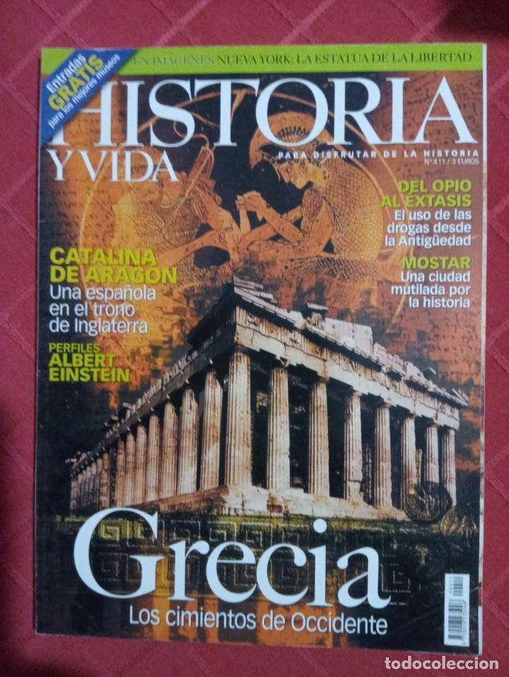REVISTA HISTORIA Y VIDA N° 411 (Coleccionismo - Revistas y Periódicos Modernos (a partir de 1.940) - Revista Historia y Vida)