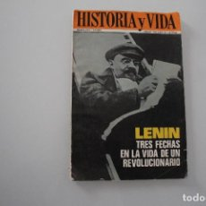 Coleccionismo de Revista Historia y Vida: HISTORIA Y VIDA LENIN. Lote 234873450