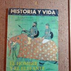 Coleccionismo de Revista Historia y Vida: HISTORIA Y VIDA EL HOMBRE Y EL ELEFANTE DEL AÑO 1995 Nº 329. Lote 242268245