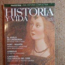 Coleccionismo de Revista Historia y Vida: HISTORIA Y VIDA LA AMBICIÓN DE LOS BORGIA DEL AÑO XXXII Nº 382. Lote 243501485