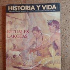 Coleccionismo de Revista Historia y Vida: HISTORIA Y VIDA RITUALES LAKOTAS DEL AÑO XXIX Nº 342. Lote 243501545