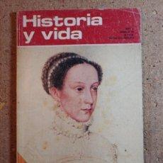 Coleccionismo de Revista Historia y Vida: HISTORIA Y VIDA MARIA ESTUARDO DEL AÑO V Nº 46. Lote 243501605