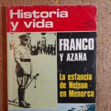Coleccionismo de Revista Historia y Vida: HISTORIA Y VIDA FRANCO Y AZAÑA DEL AÑO V Nº 54. Lote 243501635
