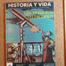 Coleccionismo de Revista Historia y Vida: HISTORIA Y VIDA LOS PRIMEROS TELESCOPIOS DEL AÑO XXIX Nº 336. Lote 243501705