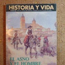 Coleccionismo de Revista Historia y Vida: HISTORIA Y VIDA EL ASNO Y EL HOMBRE DEL AÑO XXIX Nº 338. Lote 243501740