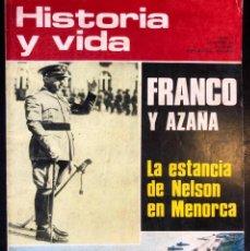 Coleccionismo de Revista Historia y Vida: REVISTA HISTORIA Y VIDA - Nº 54- AÑO V - SEPTIEMBRE 1.972 - FRANCO Y AZAÑA - ROBERT-HOUDIN -. Lote 245637385