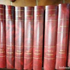 Coleccionismo de Revista Historia y Vida: HISTORIA Y VIDA ENCUADERNADA DEL 343 AL 393 Y EXTRA DEL 79 AL 84. Lote 251156465