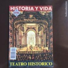 Coleccionismo de Revista Historia y Vida: HISTORIA Y VIDA Nº 74 EXTRA AÑO 1994.TEATRO HISTÓRICO.ANTONIO BUERO VALLEJO.TEATRO RUSO.. Lote 252179775