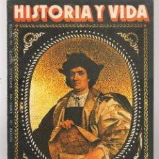 Coleccionismo de Revista Historia y Vida: HISTORIA Y VIDA. Nº 142. COLÓN Y EL PILOTO DESCONOCIDO. ENERO 1980. (T/20). Lote 256009285