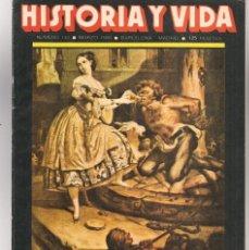 Coleccionismo de Revista Historia y Vida: HISTORIA Y VIDA. Nº 144. VICTOR HUGO, UNA VIDA ROMANTICA. MARZO, 1980. (T/20). Lote 256010170